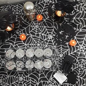hooded strobe string lights w/ spooky sounds